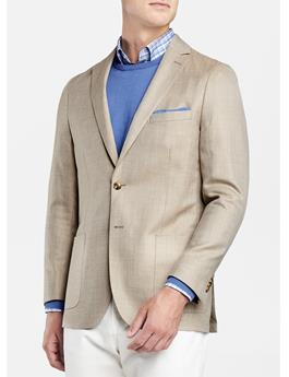 CROWN SUMMER HERRINGBONE SOFT JACKET