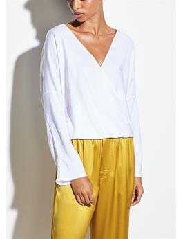 WOMENS CROSSOVER BLOUSE