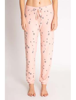 PEACHY STARS BANDED PANT