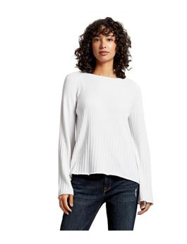 MADALINE RIBBED KNIT SWEATER