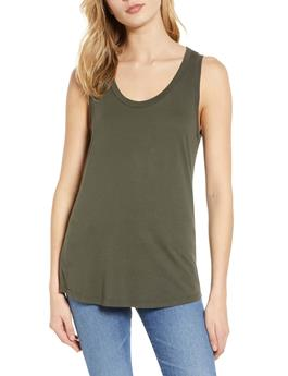 WOMENS CAMBRIA FITTED TANK