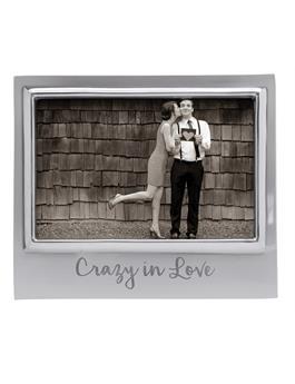 CRAZY IN LOVE 4X6 SIGNATURE FRAME