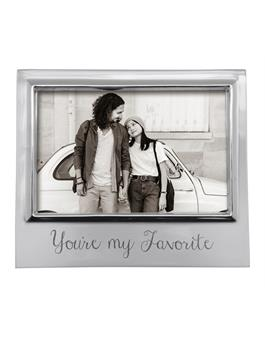 YOURE MY FAVORITE 4 X 6 SIGNATURE FRAME