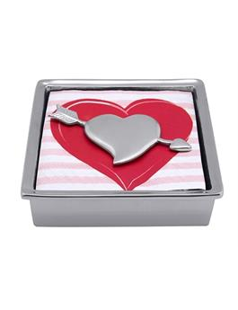 CUPID HEART SIGNATURE NAPKIN BOX