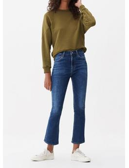 DEMY CROPPED FLARE JEAN