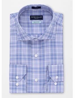 COLLECTION RIVIERA PLAID SPORT SHIRT