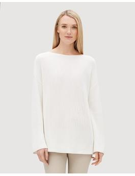 RELAXED TEXTURED STITCH SWEATER