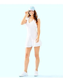 UPF 50+ LUXLETIC RALLY TENNIS DRESS