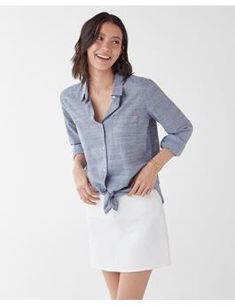 WOMENS X GRAY MALIN NANTUCKET BUTTON UP SHIRT
