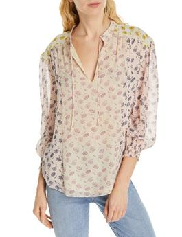 TYLA SILK FLORAL TOP