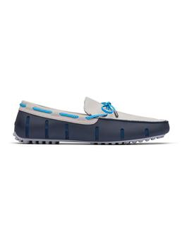 BRAIDED LACE LUX LOAFER DRIVER NUBUCK