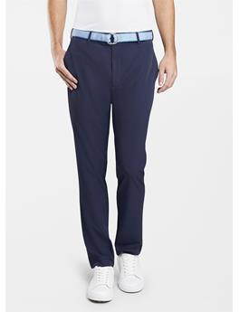 CROWN CRAFTED STRETCH FLAT FRONT PANT