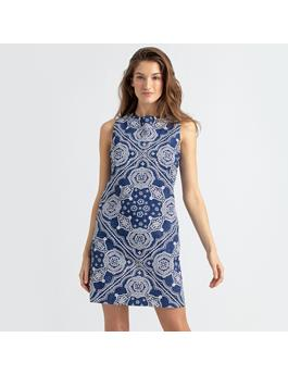 KAIMANA BANDANA SHIFT DRESS