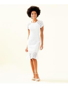 WOMENS ALIZA MIDI DRESS