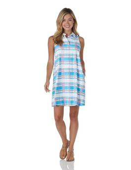 Harlee Dress  Jude Cloth - Summer Plaid