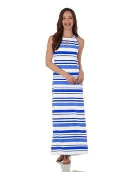 Lisette Dress  Jude Cloth - Regatta Stripe