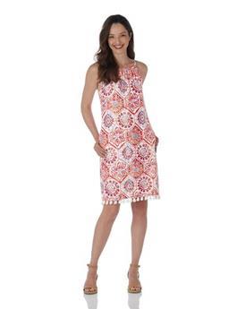 Corinne Dress  Jude Cloth - Mosaic Tile