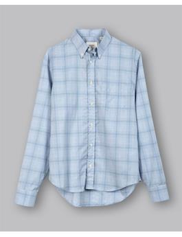 Kirby Melange Plaid Slim Shirt
