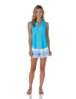 Ali Top  Jude Cloth - Aqua