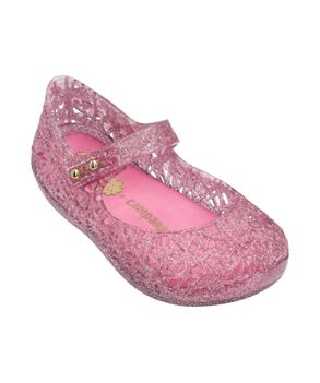 MINI ZIG ZAG Pink Candy Glitter