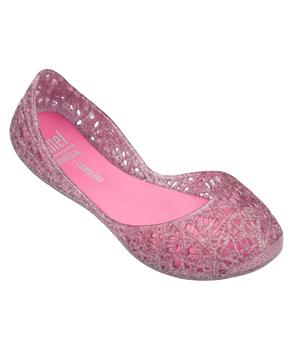 MEL CAMPANA ZIG ZAG Pink Candy Glitter