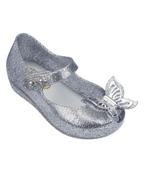 MINI ULTRAGIRL FLY Shiny Silver Glitter