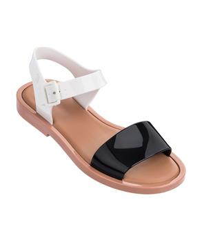MAR SANDAL Brown/white