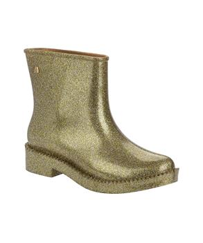 RAIN DROP BOOT Gold Gltr