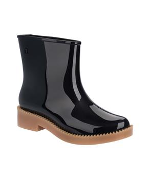 RAIN DROP BOOT Blk Beige