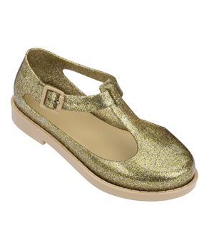 MEL KAZAKOVA Gold Glass Glitter