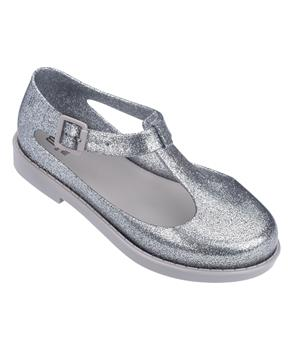 MEL KAZAKOVA Silver Glitter Gray