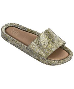 MEL BEACH SLIDE MIX GOLD GLITTER