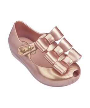 MINI ULTRAGIRL TRIPLE BOW Metallic Pink