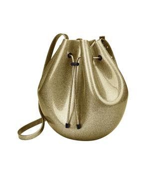 SAC BAG Gold Glitter