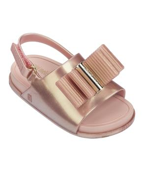 MINI BEACH SLIDE SANDAL + JASON WU Metallic Pink