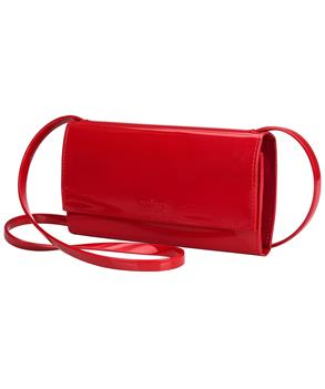 WALLET Red Flocked