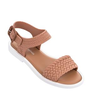MAR SANDAL + SALINAS Brown/white