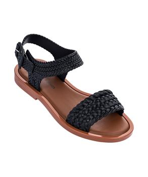 MAR SANDAL + SALINAS Black Brown