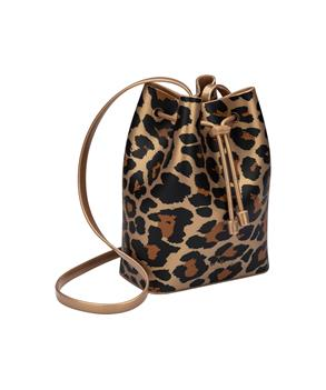 MELISSA MINI SAC BAG PRINT Gold Brown