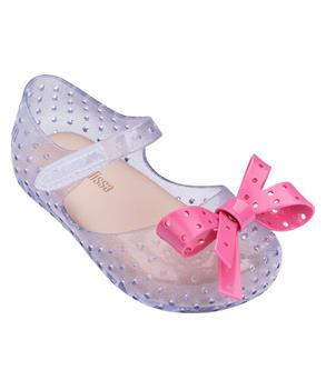 MINI FURADINHA XI Clear Glitter Pink