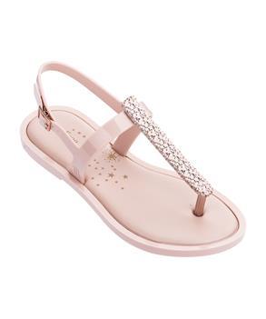 SLIM SANDAL II Metallic Pink