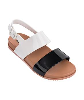COSMIC SANDAL III Black/white
