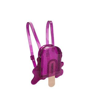 MINI BACK PACK Purple Clear