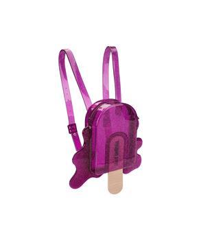 MINI BACK PACK Purple Clear