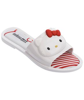 MELISSA SLIPPER + HELLO KITTY  White