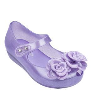 MINI ULTRAGIRL FLOWER  Clear Glitter Lilac