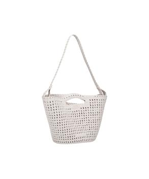 CAMPANA CROCHET BAG White