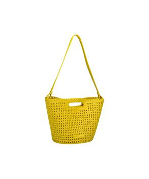 CAMPANA CROCHET BAG Yellow