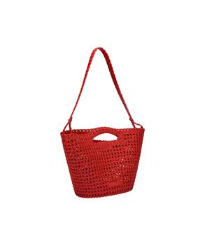 CAMPANA CROCHET BAG Red Intense