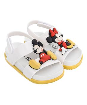 MINI COSMIC SANDAL + DISNEY TWIN White